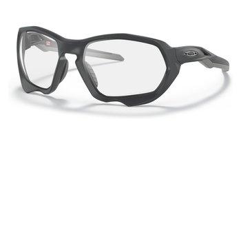 Oakley Oakley Plazma Matte Carbon Clear To Black Iridium Photochromic