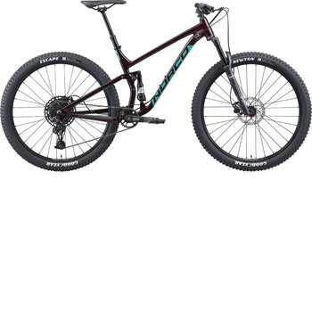 Norco Norco Fluid FS 3 (2021) Red/Jade