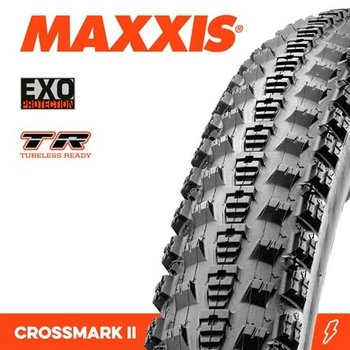 Maxxis Maxxis Tyre Crossmark II EXO/TR Black 29 x 2.10