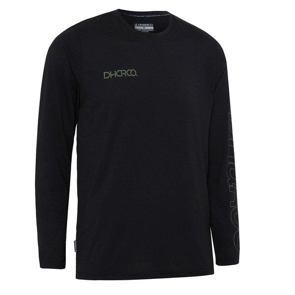 DHaRCO DHaRCO Mens Tech Long Sleeve Tee Classic Black