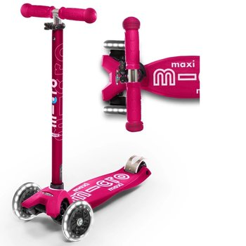 Micro Maxi Micro Deluxe LED Scooter Pink