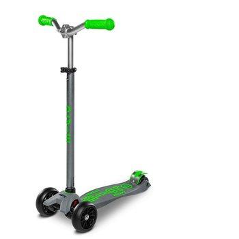 Micro Maxi Micro Deluxe Pro Scooter Grey/Green