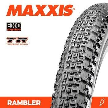 Maxxis Maxxis Tyre Rambler EXO/TR Black 700 x 45C