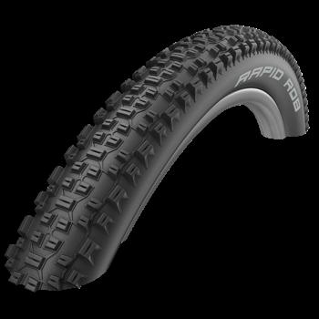 Schwalbe Schwalbe Tyre Rapid Rob Active Line K-Guard Black 26 x 2.25 WIRE