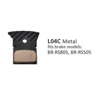 Shimano BR-RS505 METAL PAD L04C w/FIN & SPRING