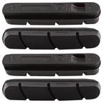 Campagnolo CAMPAGNOLO BLACK BRAKE PADS FOR ALUMINIUM RIMS (NOT P.E.O.) (4 PCS)