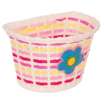 Pacific Kids Bitz Kids Basket White with Blue Flower