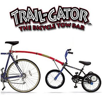 Trail-Gator Trail-Gator Bicycle Tow Bar Red