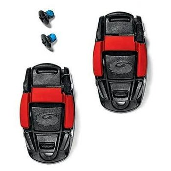 Sidi Sidi CALIPER BUCKLE BLACK/RED (PAIR)