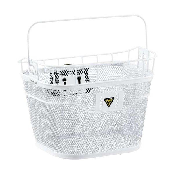 Topeak BASKET FRONT (w/FIXER 3) WHITE