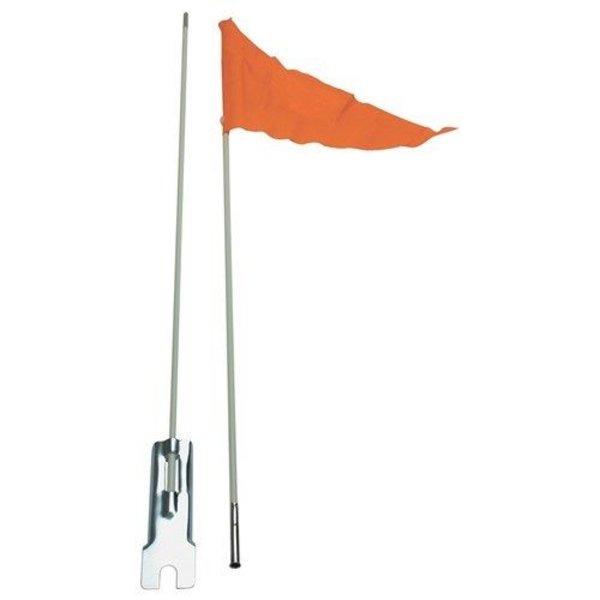 Bikecorp Safety Flag Adjustable Height Orange