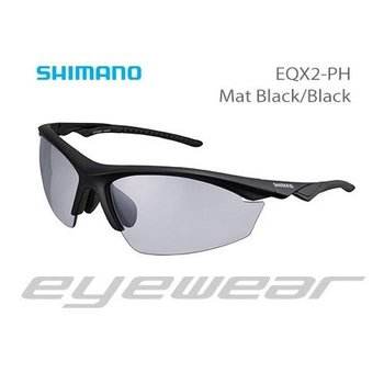 Shimano Oakley EQX2-PH MAT BLACK/BLACK PHOTOCHROMIC GREY
