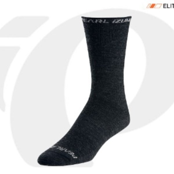 Pearl Izumi PEARL IZUMI SOCKS - ELITE THERMAL WOOL BLACK SMALL