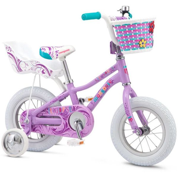 "Mongoose Mongoose Lilgoose Girls 12"" Bike"