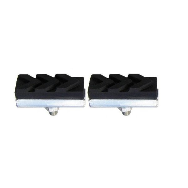 Bicycle Parts Wholesale Caliper Brake Shoes, 25 Degree, 40mm, Black (Pair)