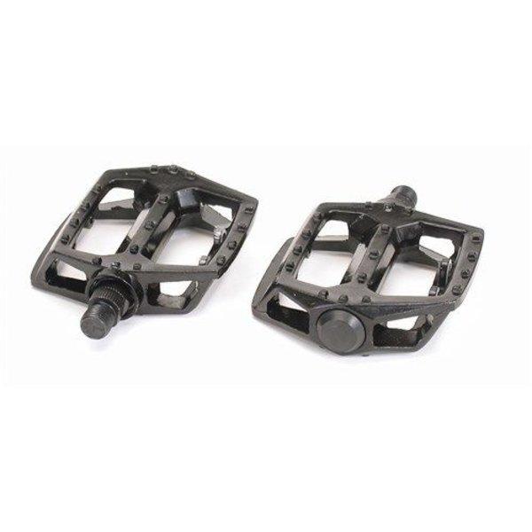 "Bikecorp Platform Pedals 1/2"" Alloy Black"