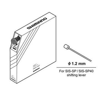 Shimano SHIFT CABLE 1.2mm STAINLESS