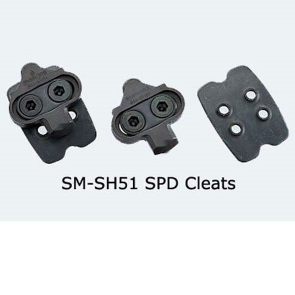 Shimano SM-SH51 SPD CLEAT SET SINGLE-RELEASE w/NEW CLEAT NUT