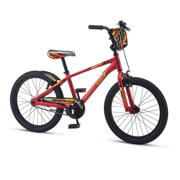 "Mongoose Mongoose RACER X Boys 20"" Red"