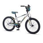 "Mongoose Mongoose RACER X Boys 20"" Silver"
