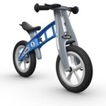FirstBIKE STREET Balance Bike with Brake Light Blue