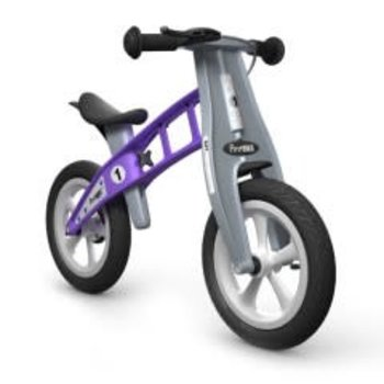 FirstBIKE STREET Balance Bike with Brake Violet