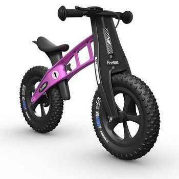 FirstBIKE FAT Cross Balance Bike w/Brake Pink