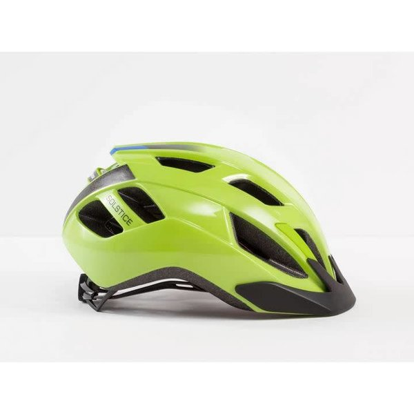Bontrager Bontrager Solstice Youth Helmet Radioactive Yellow/Waterloo Blue