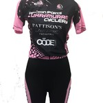 Peloton Sports Peloton Sports Ladies Jersey Pink/Black