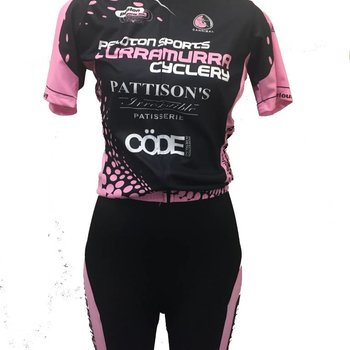 Peloton Sports Peloton Sports Ladies Bib Knicks Pink/Black