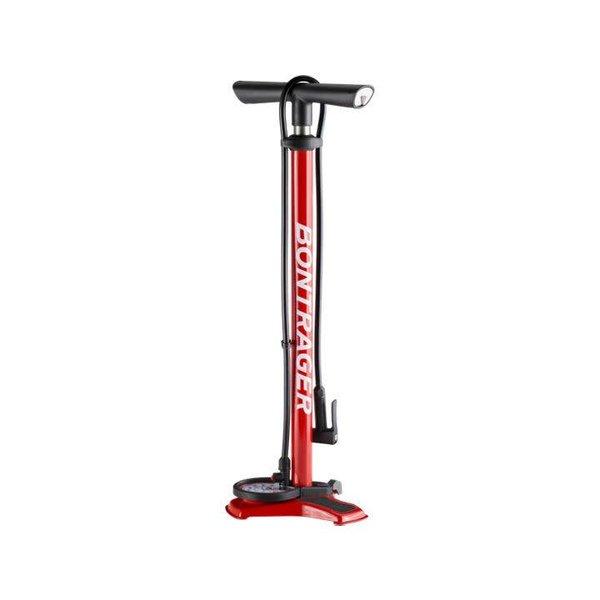 Bontrager Bontrager Dual Charger Floor Pump Red