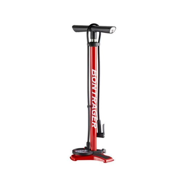 Bontrager Dual Charger Floor Pump Red