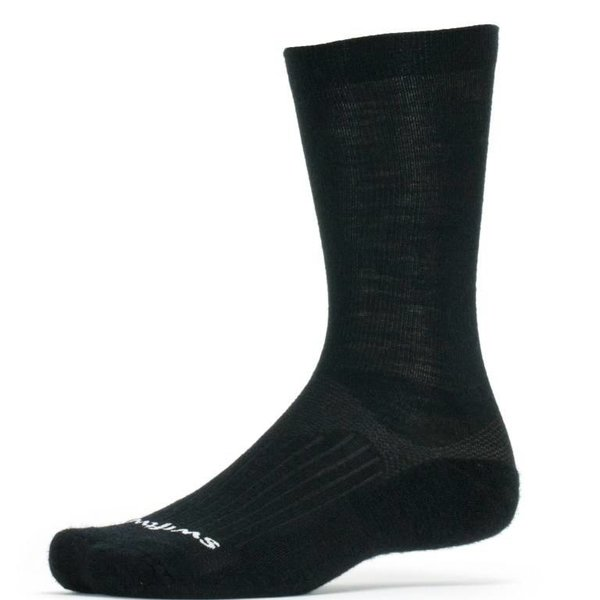 Swiftwick Swiftwick Pursuit Merino Seven Socks Black