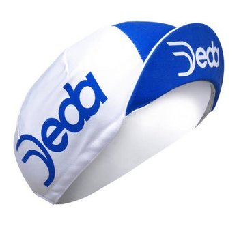 Deda Cycling Cap White and Blue Deda