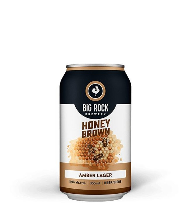 Big Rock Honey Brown Lager - Cans