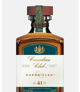 Canadian Whisky Canadian Club 41 Yr