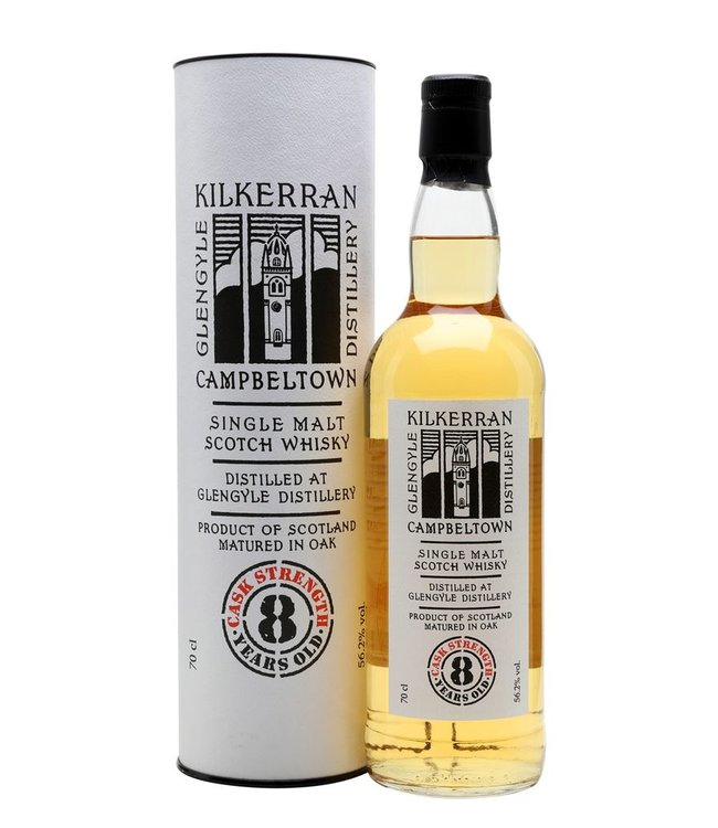Kilkerran 8 yr old Cask Strength
