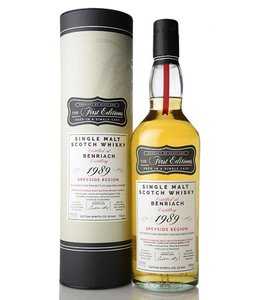 The First Editions Benriach 1989