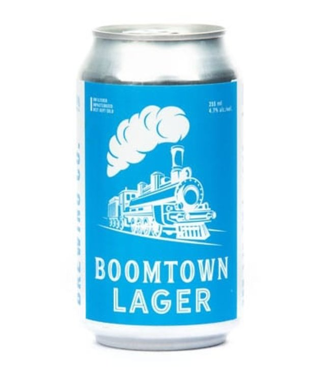 Medicine Hat Brewing Boomtown Lager - 6 Pk Cans