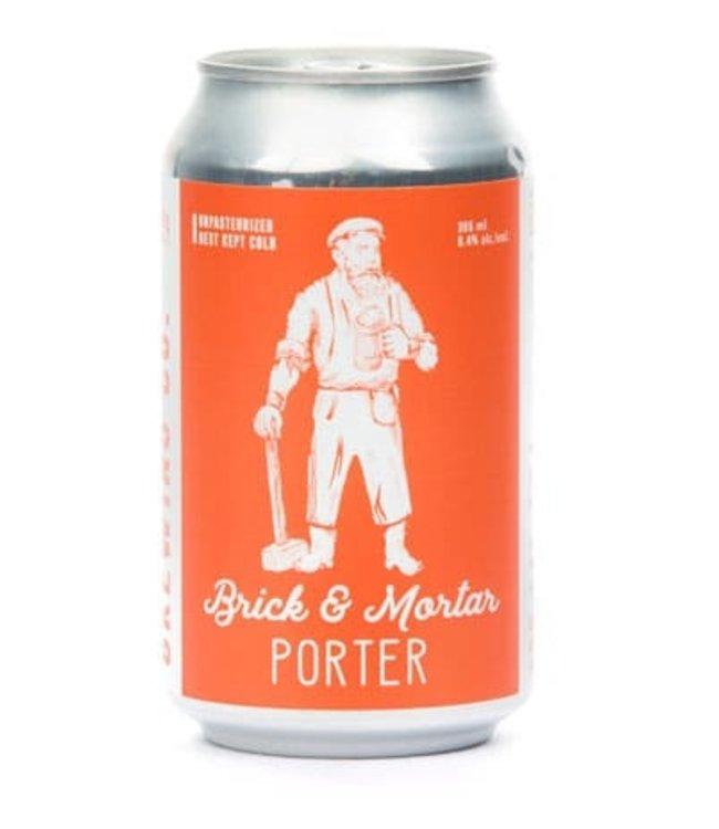 Medicine Hat Brewing Brick & Mortar Porter - 6 Pk Cans