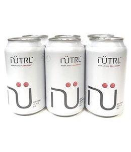 Nutrl Vodka Soda Cranberry - 6 Pak