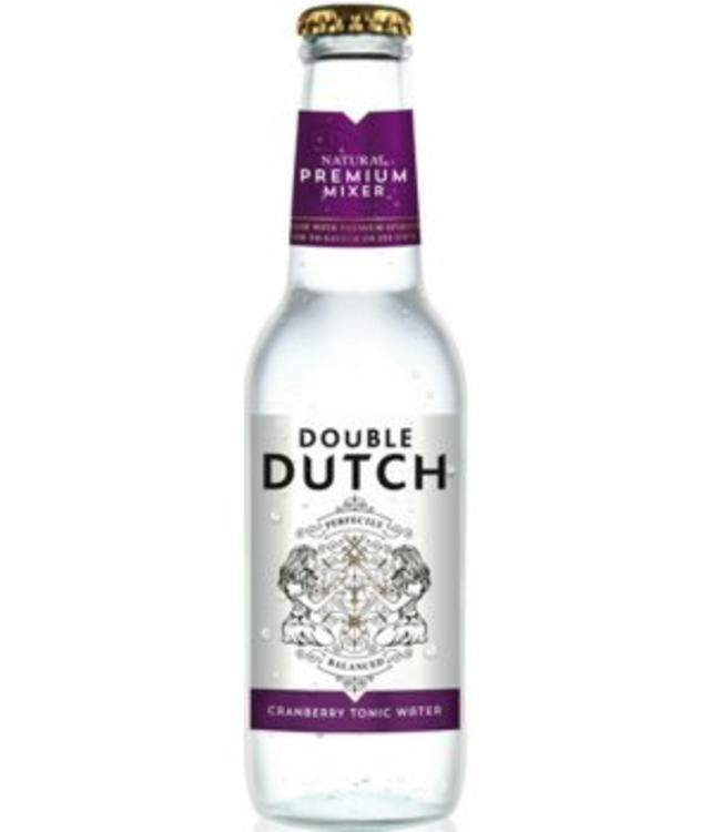Double Dutch Cranberry Tonic Water - 200ml