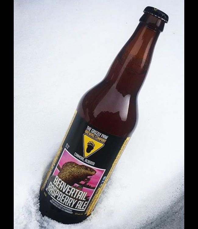 Grizzly Paw Beavertail Raspberry - 650ml