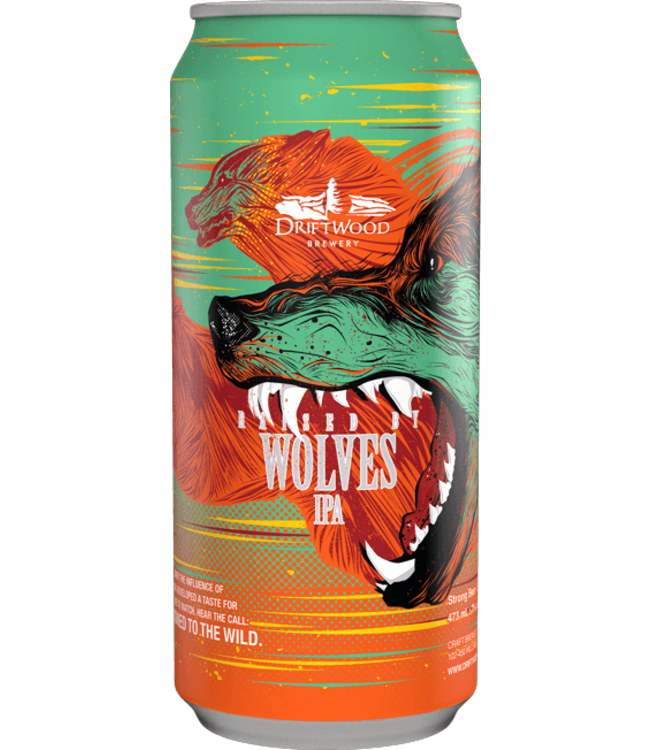 Driftwood - Raised by Wolves IPA - 473ml