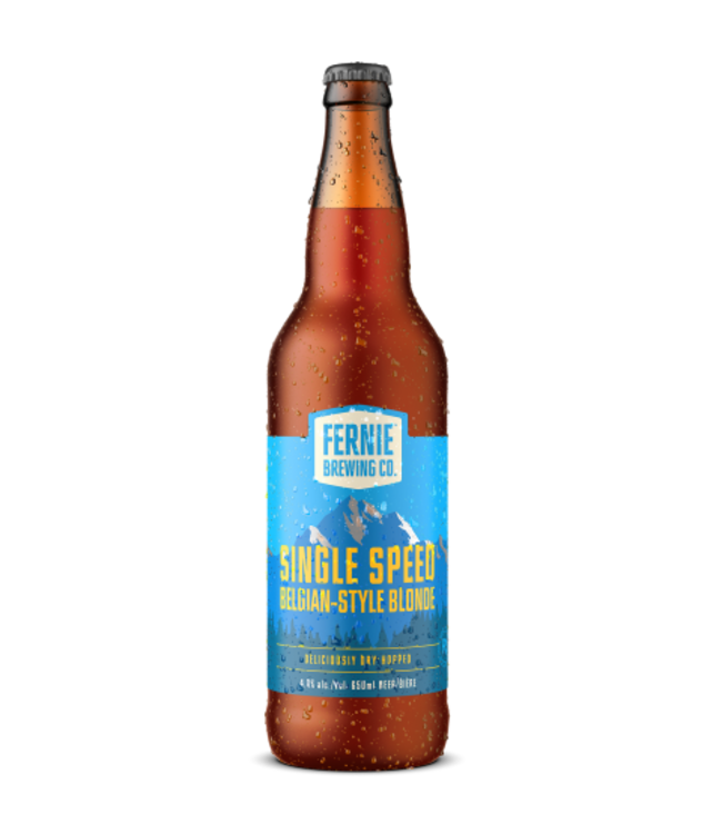 Fernie Brewing Single Speed Belgian Blonde 650ml