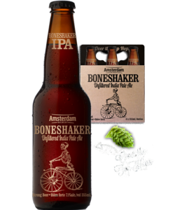 Amsterdam Brewing Boneshaker Unfiltered IPA - 6 Pak