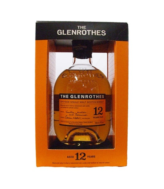 Glenrothes 12 yr old