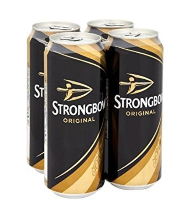Strongbow - 4 Pak Cans