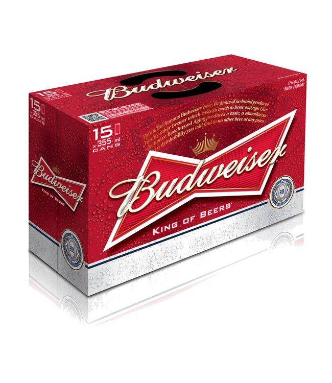 Budweiser - 15 Pak Cans