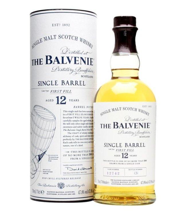 Balvenie Single Barrel - 12 yr old